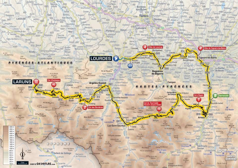 Tour De France 2018 – Étape 19 – Lourdes à Laruns