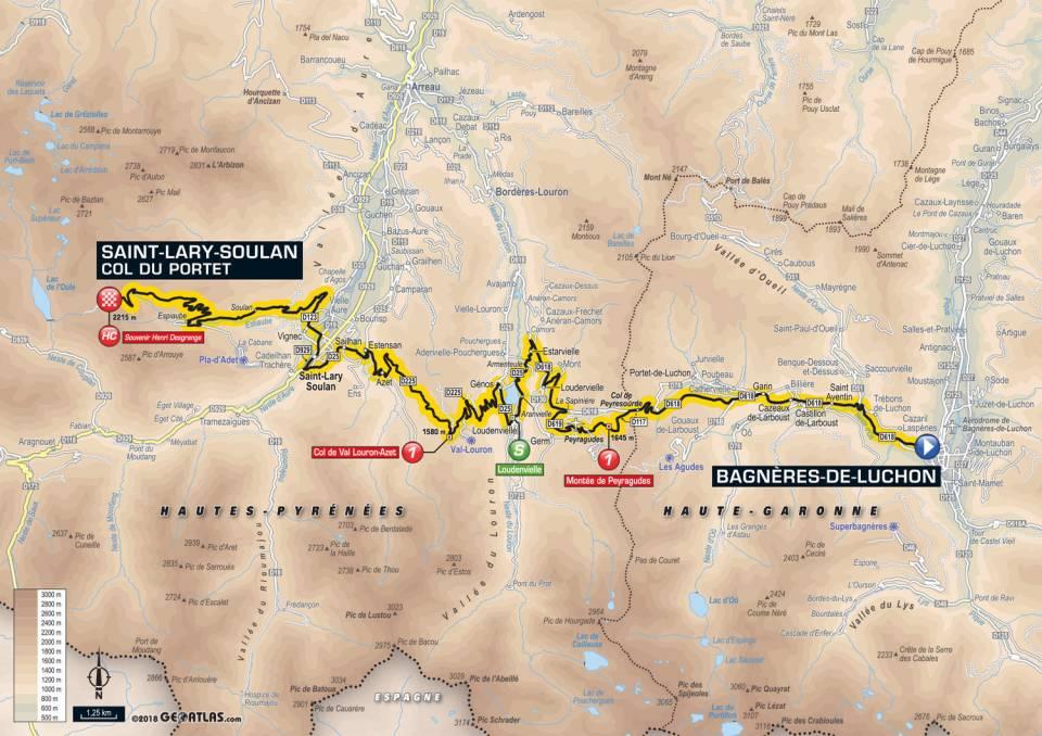 Tour De France 2018 – Étape 17 – Bagnères de Luchon à Saint-Lary-Soulan