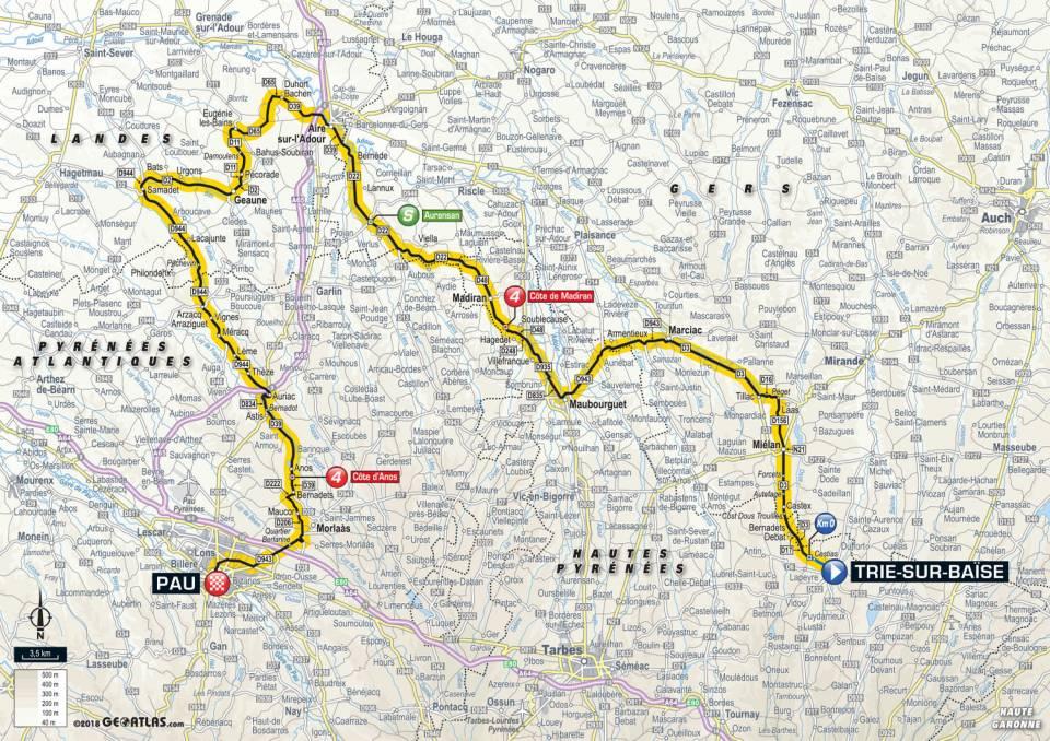 Tour De France 2018- Étape 18 – Trie-sur-Baïse à Pau