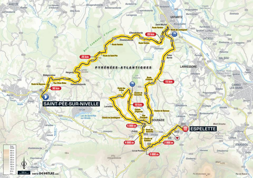 Tour De France 2018 – Étape 20 – Saint-Pée-sur-Nivelle à Espelette