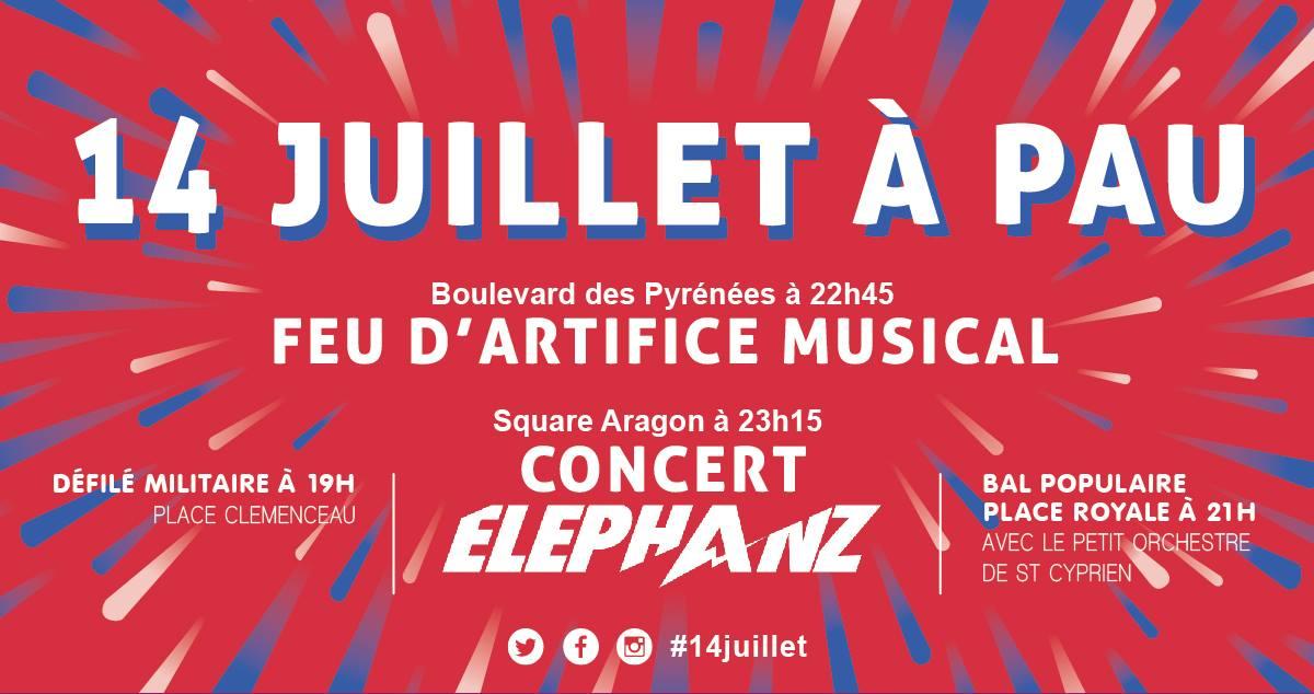 14 Juillet 2018 à Pau