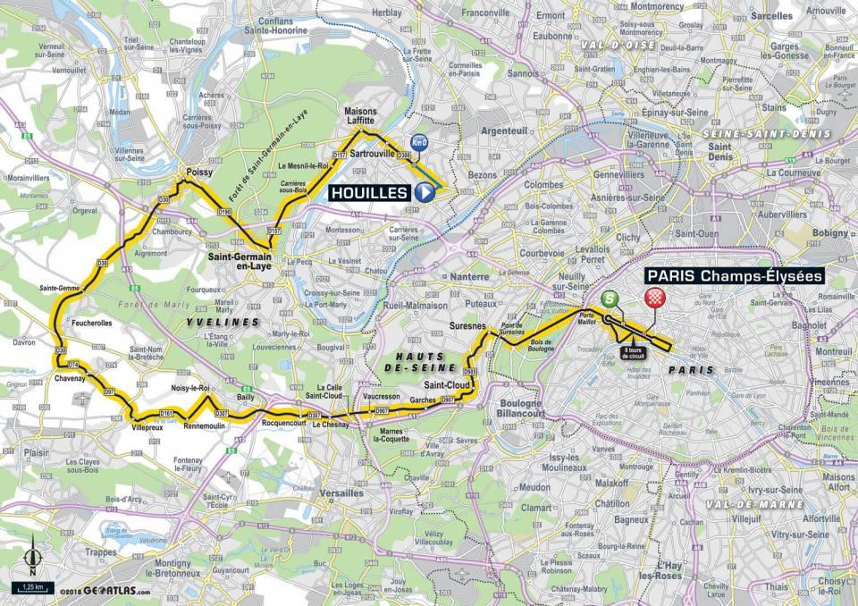 Tour De France 2018 – Étape 21 –  Houilles – Paris Champs-Élysées