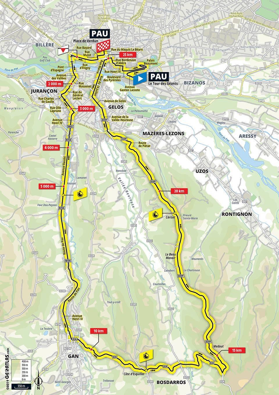 Tour De France 2019 – Étape 13 – Contre la Montre Individuel à Pau